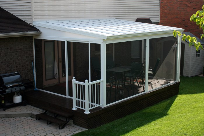 Screen rooms natural light patio covers natural light for Outdoor screen room ideas